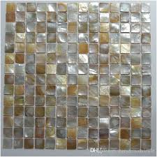 tile floor mosaic shell mosaic natural color x for floor wall column used mosaic mother broken