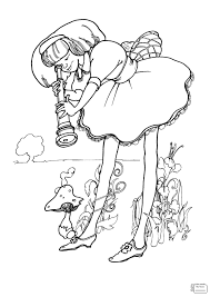 Small Picture cartoons Mad Hatter coloring pages for kids coloringbooks7com