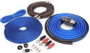 Amazon.com: KnuKonceptz Kolossus 4 Gauge OFC Amplifier Installation Kit -  Red: Car Electronics
