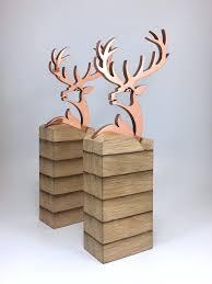 Bespoke Award Design Copper Stag Award Trophy Design Custom Awards Awards