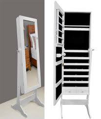 Mirrored Jewelry Cabinet Armoire Mirrored Jewelry Cabinet Armoire Katinabagscom