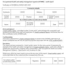 It Audit Report Template Internal Audit Findings Template