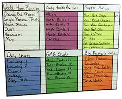 Wipe Off Chore Chart Magnetic Wet Erase Family Chore Chart Primary Love My Schedule