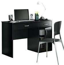 black computer desk small black glass computer desk with drawers