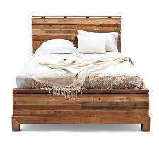 reclaimed wood king platform bed. Reclaimed Wood Bed Frame Devon King Platform In M