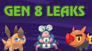 Pokemon Images: Pokemon Gen 8 Leaks Twitter