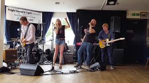 Knight Sound And Light Hanwell Phoenix Festival 2018 Tina Roberts Arms Length Blues Band