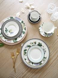how to mix 'n match china for a modern registry  coco kelley coco