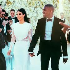 Kim Kardashian & Kanye West Married in ...