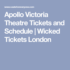 Apollo Theater Seating Chart Wicked Seatsforeveryone Com Wicked Tickets Theater