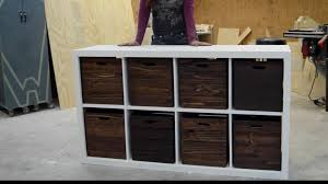 toy cubby storage. DIY Toy Storage Unit With Wooden Crates Cubby