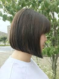 前髪あり前下がりボブでおしゃれをゲット似合わせポイントとスタイル