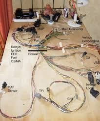create a custom efi installation 1989 mustang engine harness at 1989 Mustang Wiring Harness