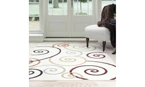 swirl area rug lavish home modern swirls area rug brown swirl area rug