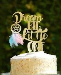 Dream Catcher Baby Shower Cake Dream Big Little One Cake Topper Baby Shower Dream Catcher Boho 70