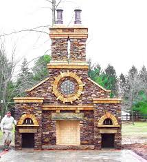 outdoor fireplace pizza oven combo rh buddingco com outdoor fireplace pizza oven combo kits outdoor pizza oven plans
