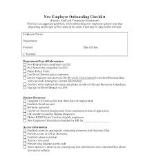 New Hire Forms Checklist Template Checklist Template Word Free