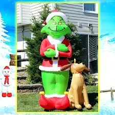 ups up yard decorations part outdoor with xmas nightmare before christmas lowes inflatables inflatable