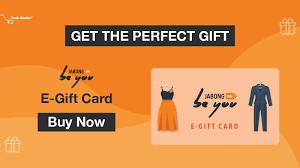 Gift Cards - Buy Jabong E-Gift Cards Online & Gift Vouchers