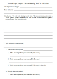 Example Of An Outline For A Research Paper In Apa Format