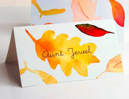 Quotes Thank You Homemade Thanksgiving Placecards Homemade Place