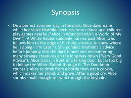 synopsis on a perfect summer day in the park alice daydreams while her sister mathilda