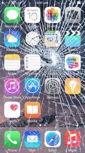 Broken Screen Prank iphone Wallpapers