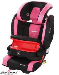 child seat original recaro monza nova is pink 9 36kg incl