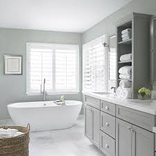 gray bathroom with white cabinets. bathroom cabinets \u2026 gray with white g