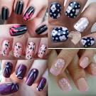 Рисовать картинки на ногтях