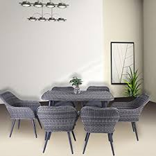 costway 7pc patio rattan wicker table chairs sofa dining set furniture out indoor garden