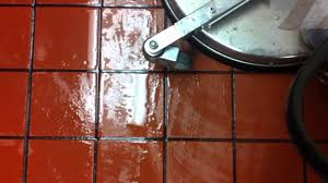 Kitchen Floor Grout Cleaner Restaurant Kitchen Floor Grout Cleaning Youtube