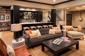 Creativity Basement Bar Ideas In Gallery Exquisite And Living Idea Inside