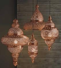 kitchen accessorise design and decoration using decorative gold metal arabian copper kitchen light fixtures