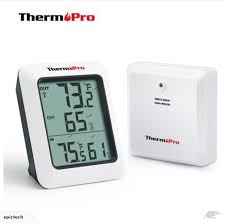 thermopro wireless indoor outdoor thermometer hygrometer humidity monitor trade me