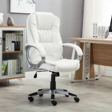 ebay office furniture used. Exellent Ebay White Faux Leather Modern Executive Computer Conference Desk Office Task  Chair With Ebay Furniture Used