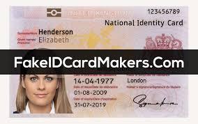 Identification Card Samples Uk Id Card Template Psd New Fake United Kingdom Identity