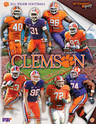 Illinois Football Depth Chart 2011 2011 Clemson Football Media Guide By Clemson Tigers Issuu
