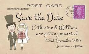 Save The Dates Wedding Wedding Save The Date Cards Ebay