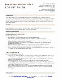 Resume Specialists Accounts Payable Specialist Resume Samples Qwikresume