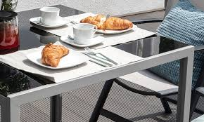 Vanage Table With Glass Top Groupon