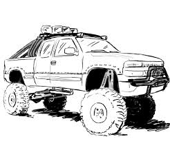 this site contains all about chevy silverado coloring pages