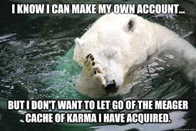 Embarrassed Polar Bear memes | quickmeme via Relatably.com