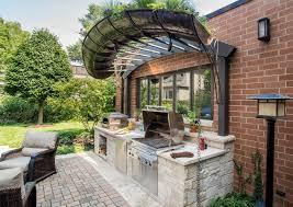 garden ideas-outdoor kitchen itself build