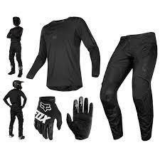 Details About Fox 180 Sabbath Combo 2019 Black Mx Pants Shirt Gloves