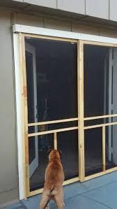 garage screen door sliders31 best French door screens images on Pinterest  Screen doors