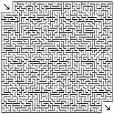Small Picture 111 best Free Mazes images on Pinterest Maze Christmas crafts