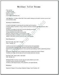 Resume Of Bank Teller Cover Teller Position Letter Bank Cover Letter