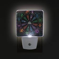Geek Zodiac Chart Deyya Astrology Love Chart Geek Zodiac Plug In Led Night