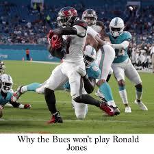 Tampa Bay Buccaneers Depth Chart 2019 Why The Bucs Wont Play Ronald Jones